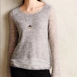 ANTHRO / KNITTED & KNOTTED Aleesia Alpaca Sweater